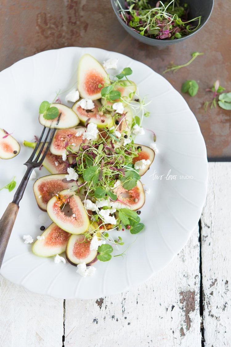 20 Best Recipes of 2014 | Fig and Feta Salad via Thou Swell http://thouswell.com/