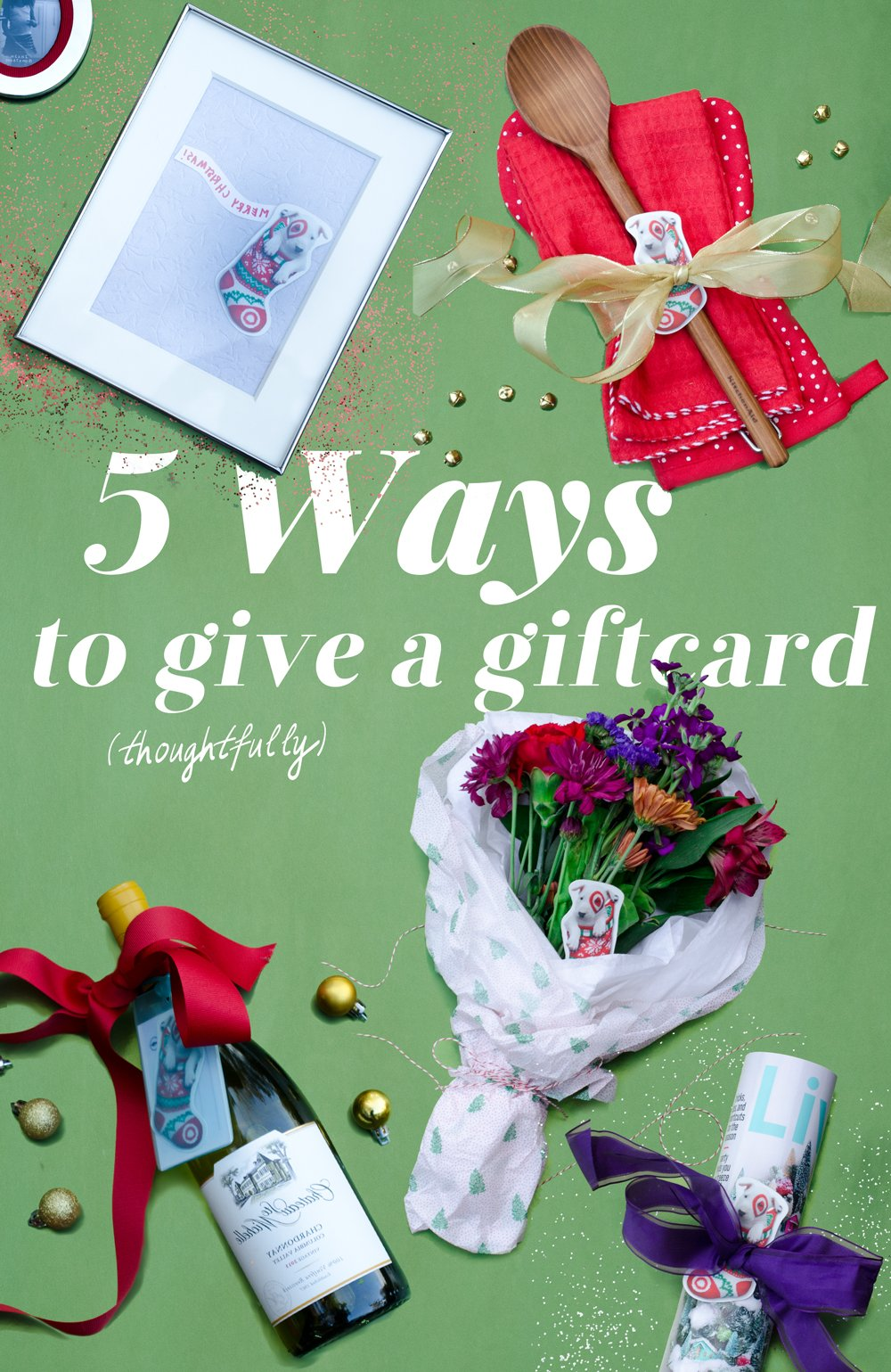 How to Give a Giftcard (Thoughtfully)   Thou Swell https://thouswell.com/