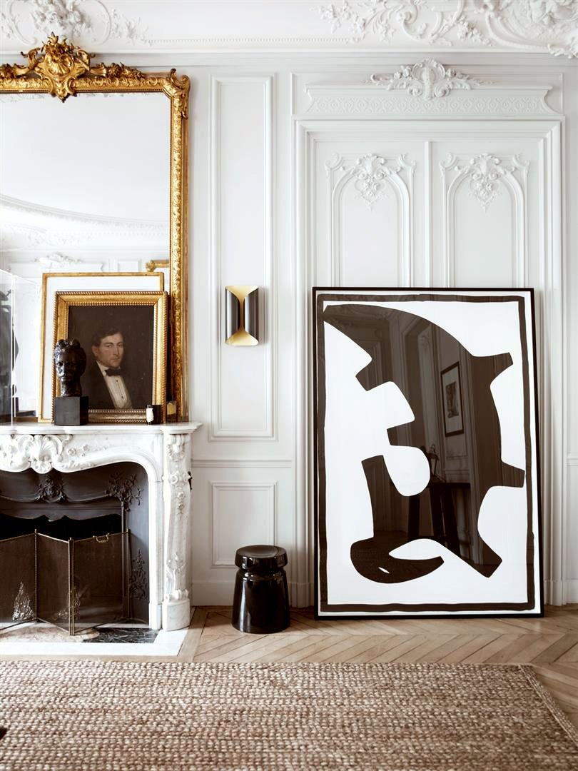 Cutting-Edge Classicism in Parisian Flat via Gilles & Boissier on Thou Swell | http://thouswell.com/cutting-edge-classicism-in-parisian-flat