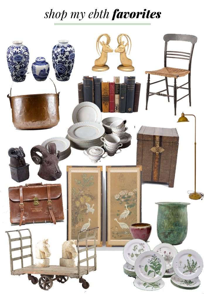 HOW TO SHOP ESTATE SALES FROM HOME | Thou Swell http://thouswell.co/shop-estate-sales-home