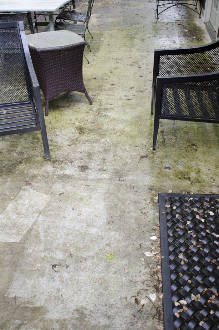 Behr DeckOver patio makeover on Thou Swell