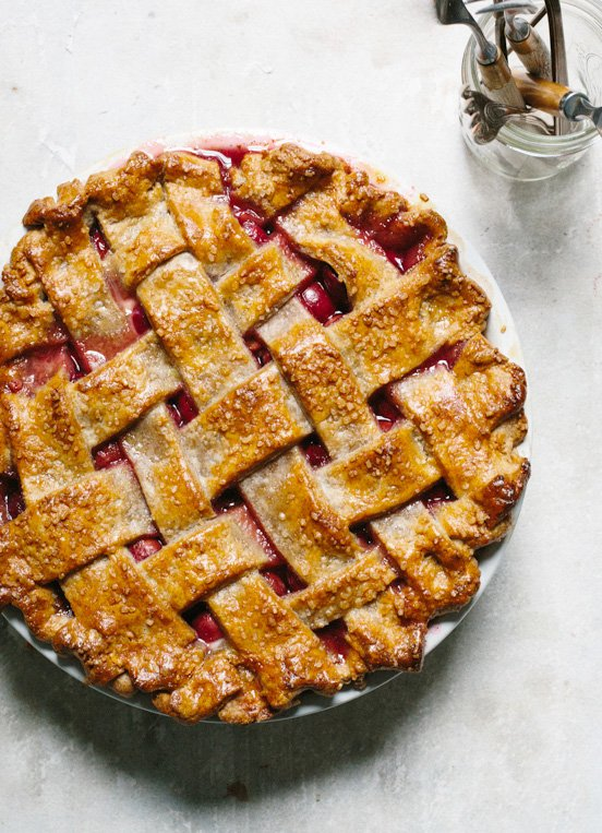 Classic cherry pie recipe from Harriot Grace