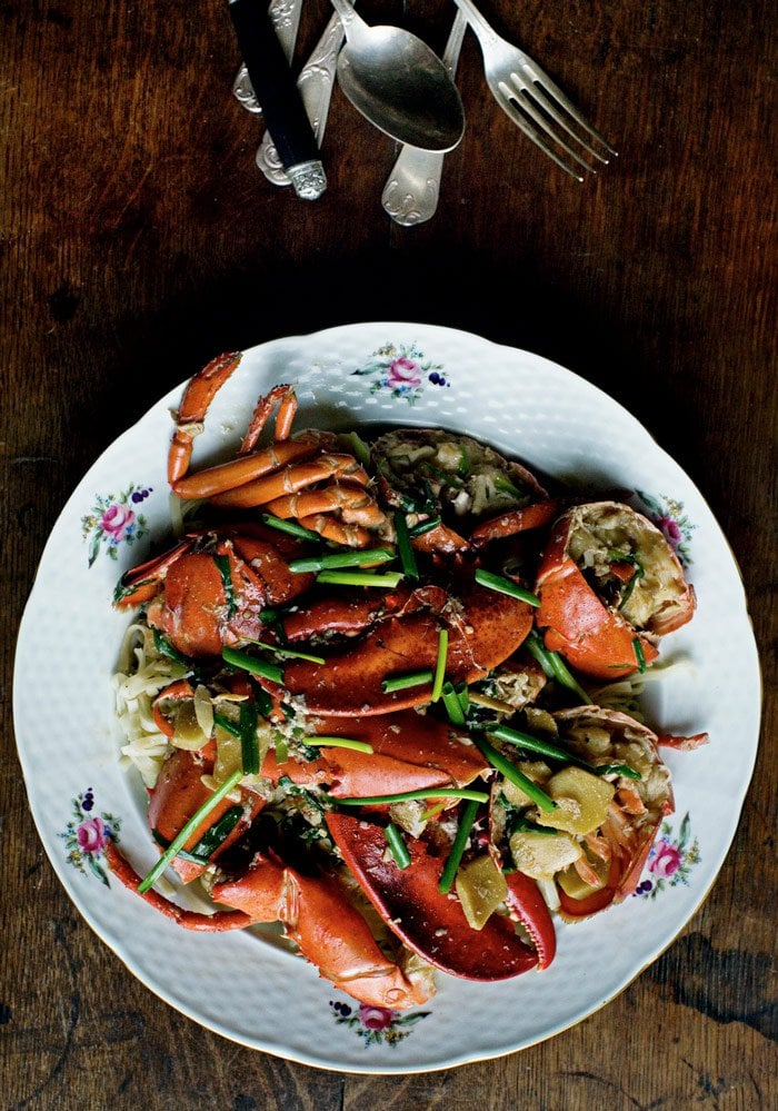 Lobster with egg noodles from Mimi Thorisson