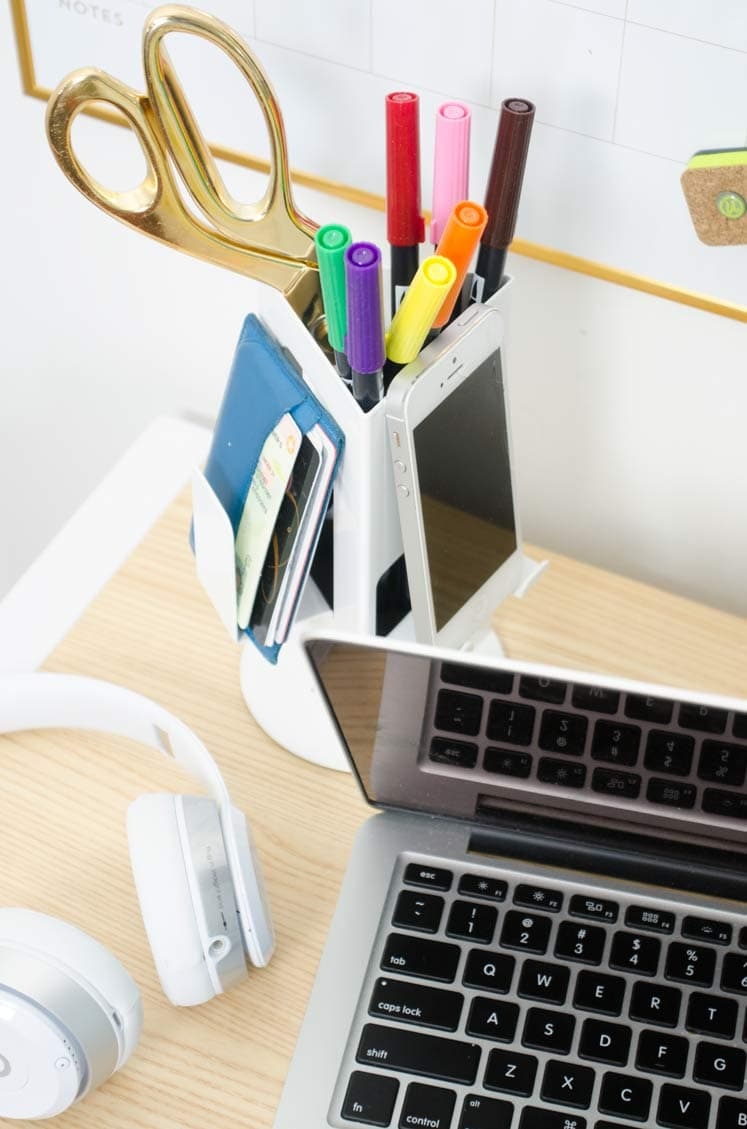 Get organized this school year with tips on staying organized from @thouswellblog with Target #MadeForU
