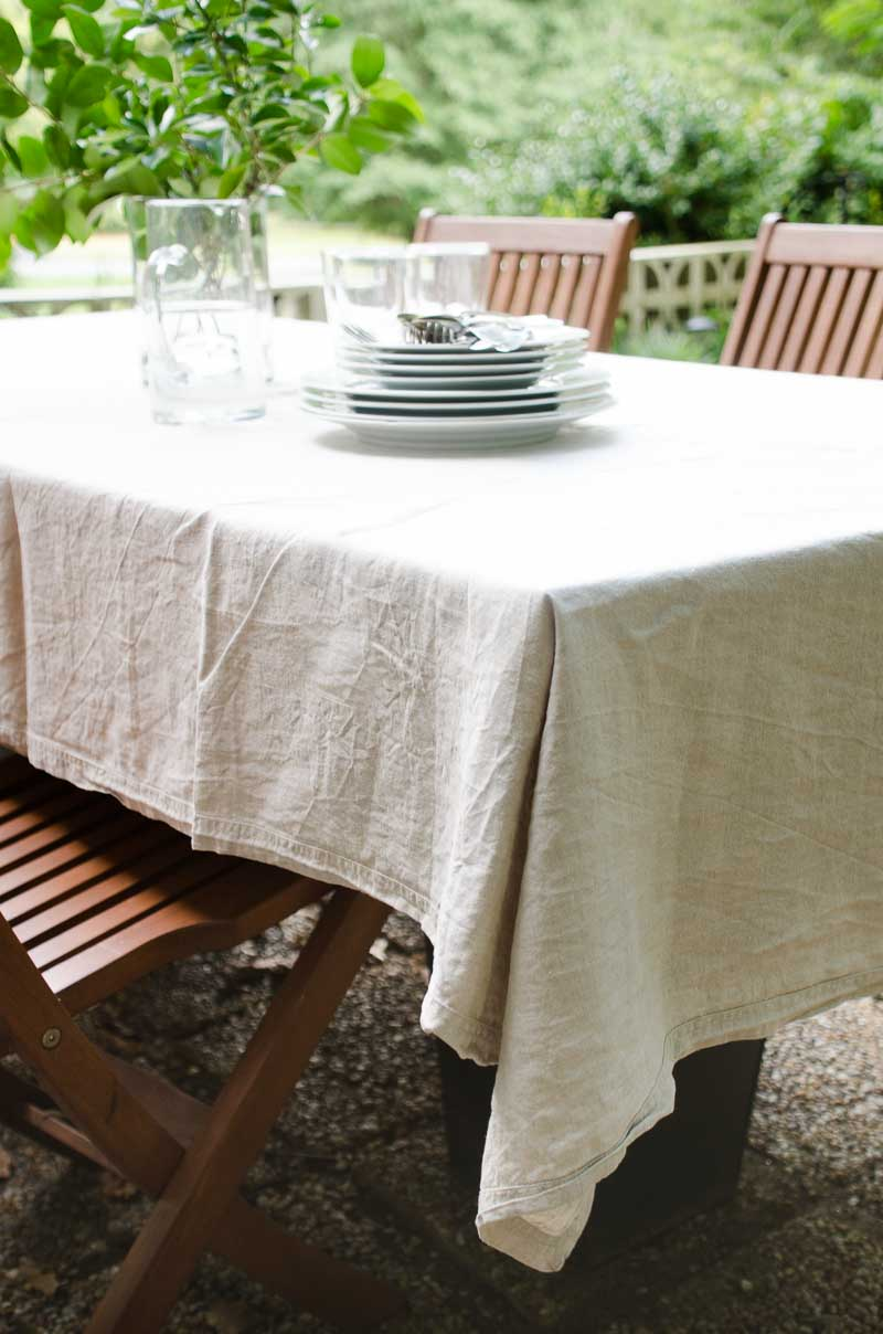 The Easiest Diy Dining Table Thou Swell