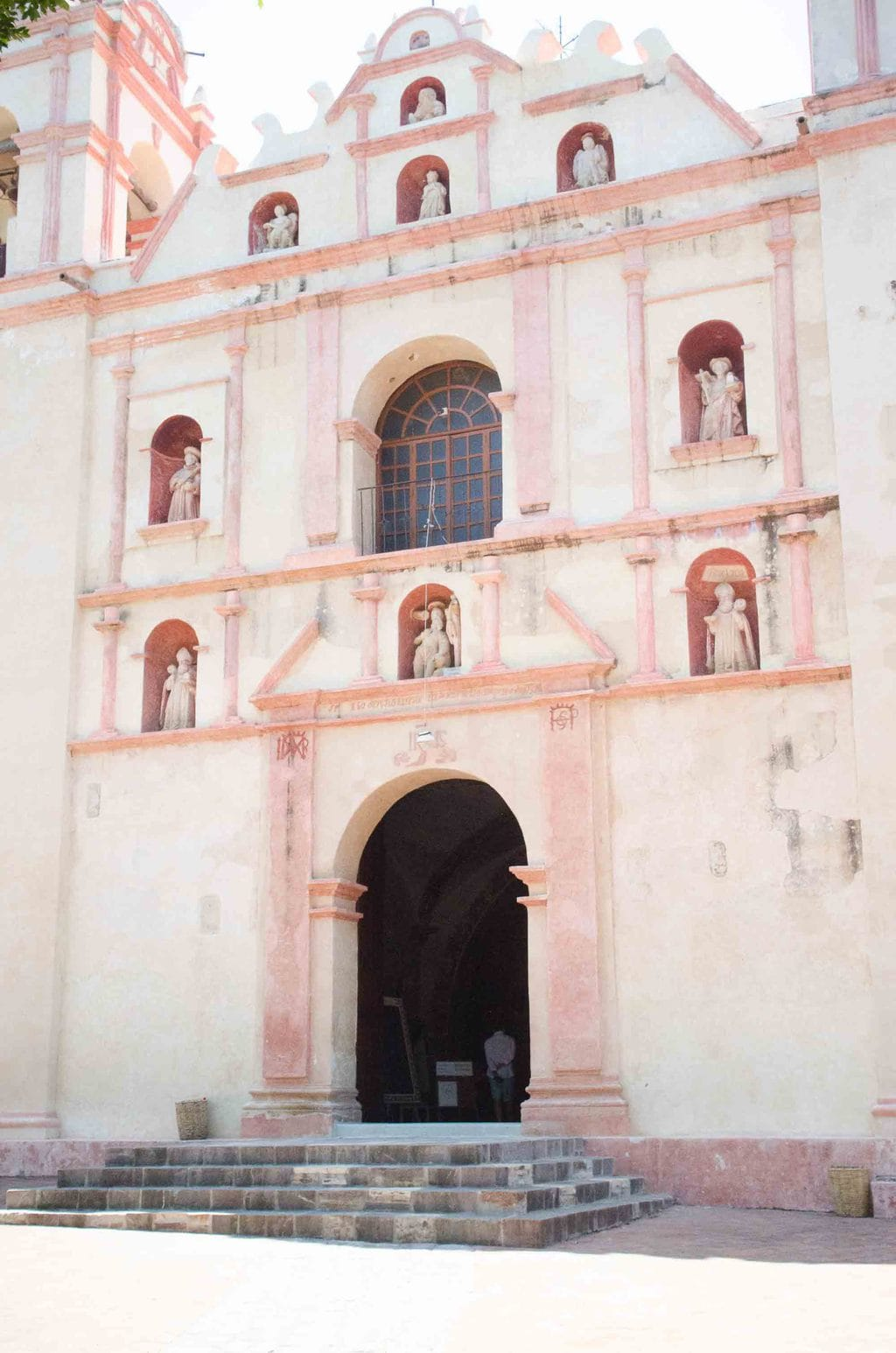 San Jeronimo Church in Tlacochahuaya, Oaxaca