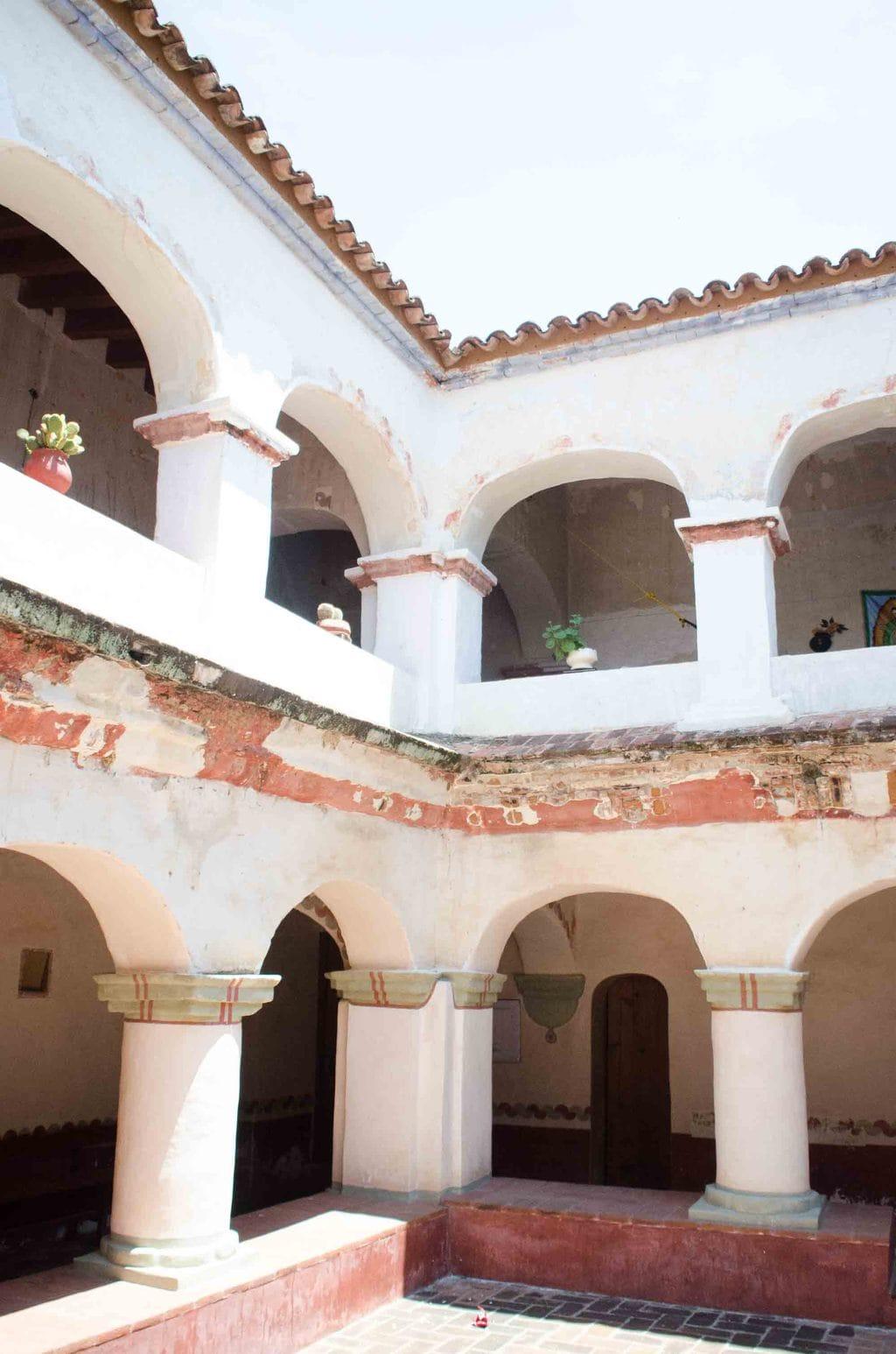 San Jeronimo Ex-Convent in Tlacochahuaya, Oaxaca