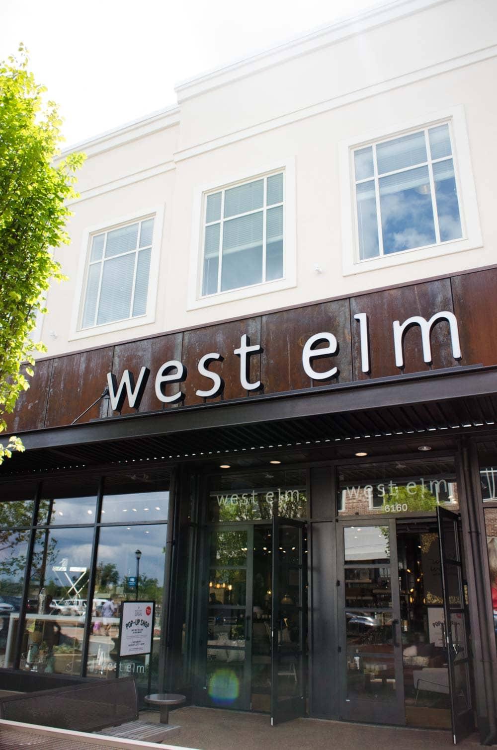 West Elm Avalon store in Alpharetta, GA