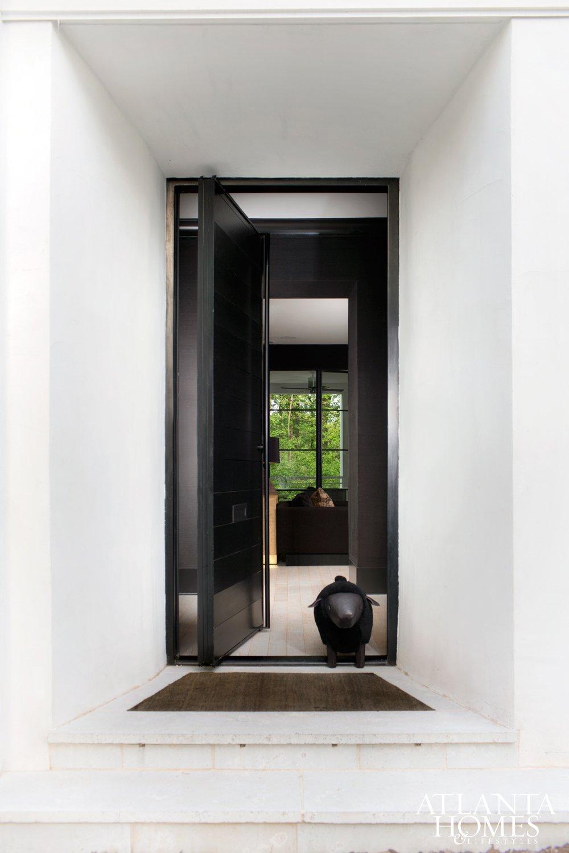Lee Kleinhelter's modern home in Atlanta.