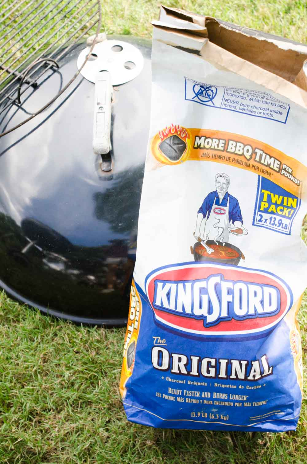 Elegant fall cookout with Clorox Kingsford Charcoal