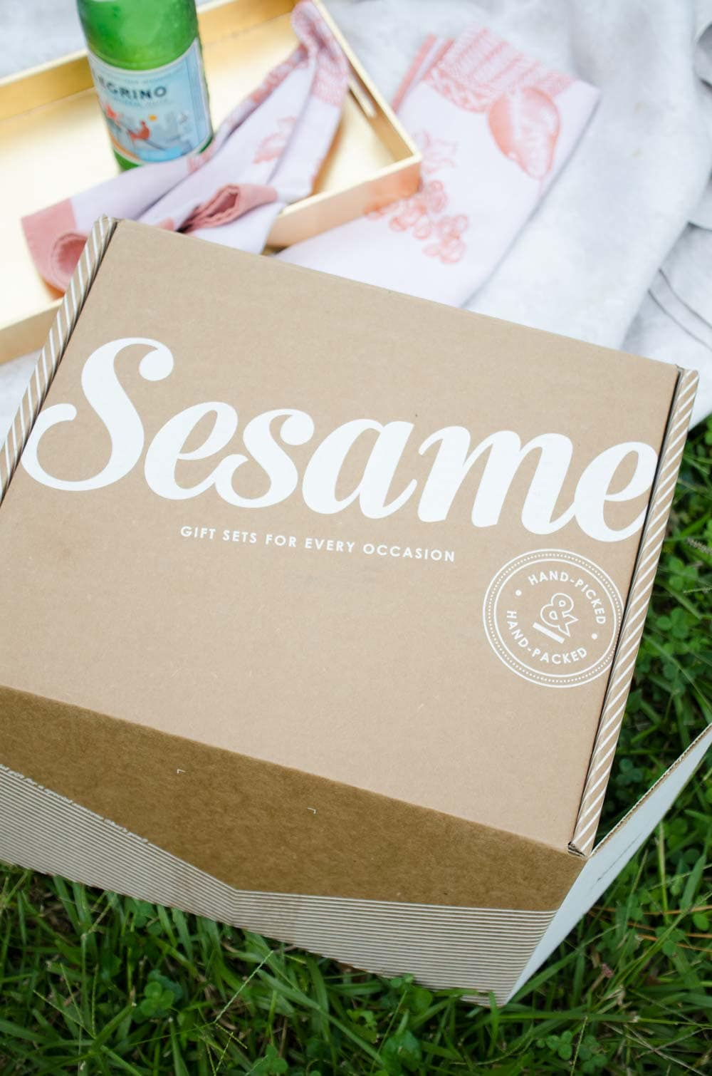 Easy and elegant gift boxes for any occasion from Sesame gifts