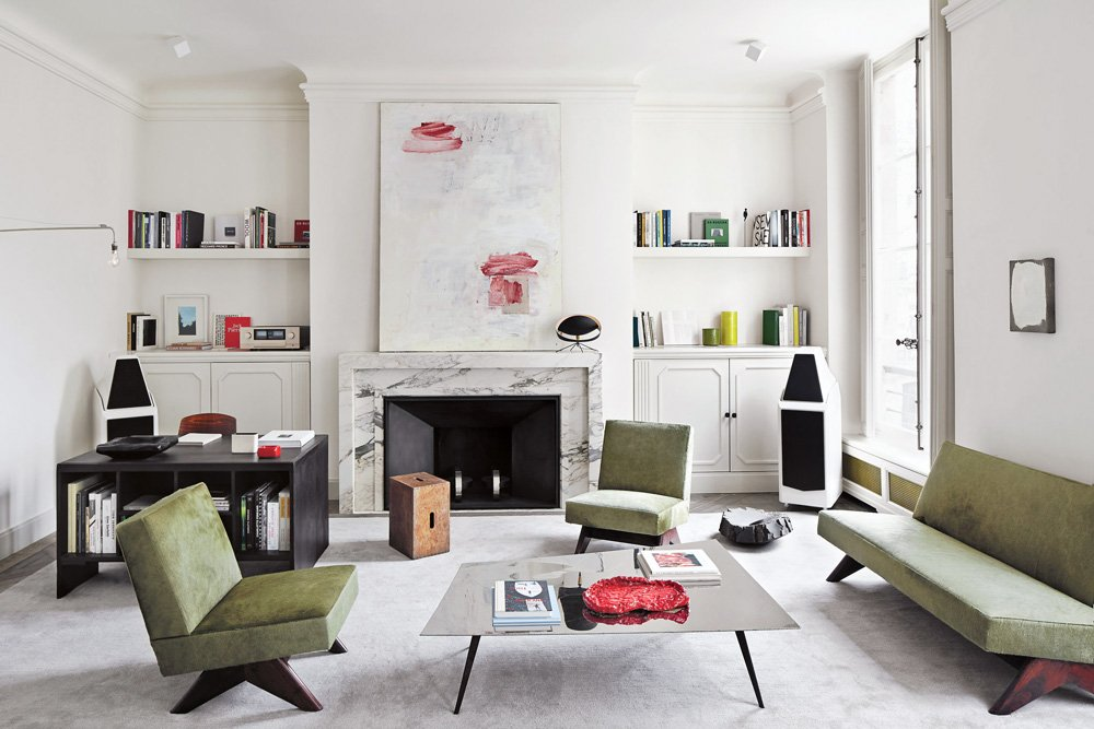 Joseph Dirand's sophisticated Paris apartment redefines minimalism through subtle nuance.