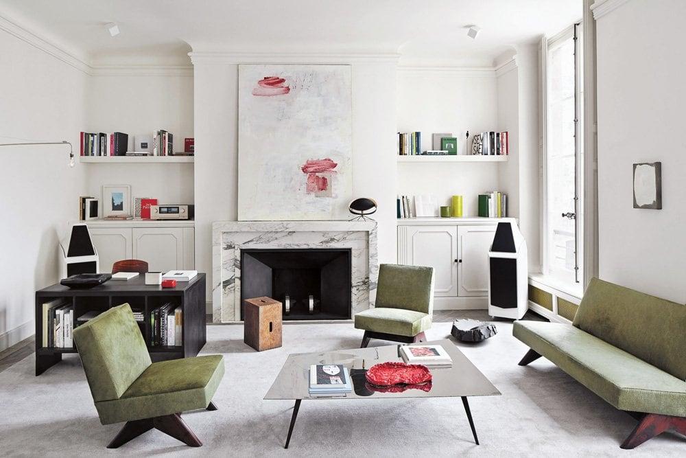 Joseph Dirand's sophisticated Paris apartment redefines minimalism through subtle nuance.