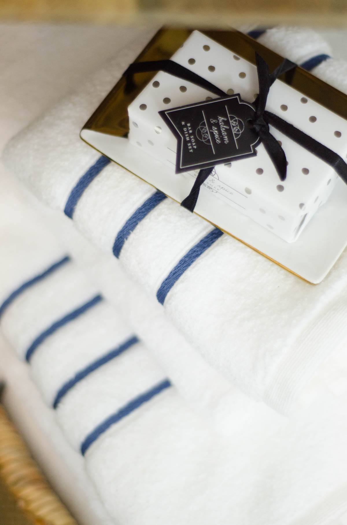 Fresh towels for holiday houseguests from @TargetStyle