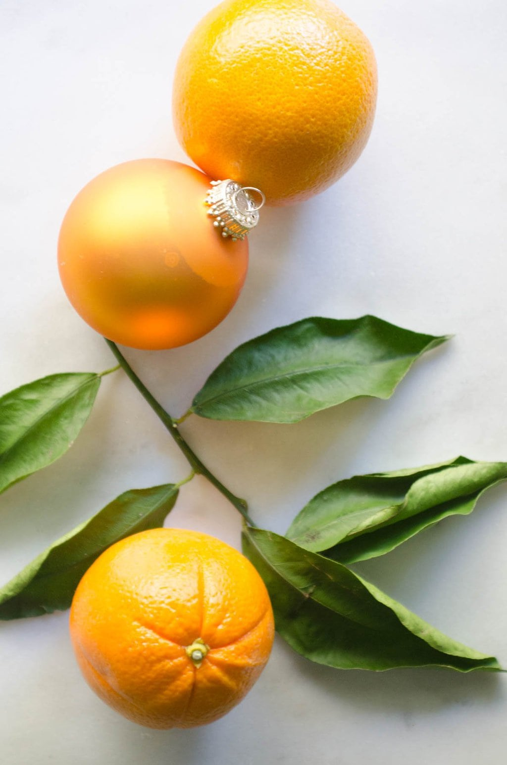 Citrus Christmas tree