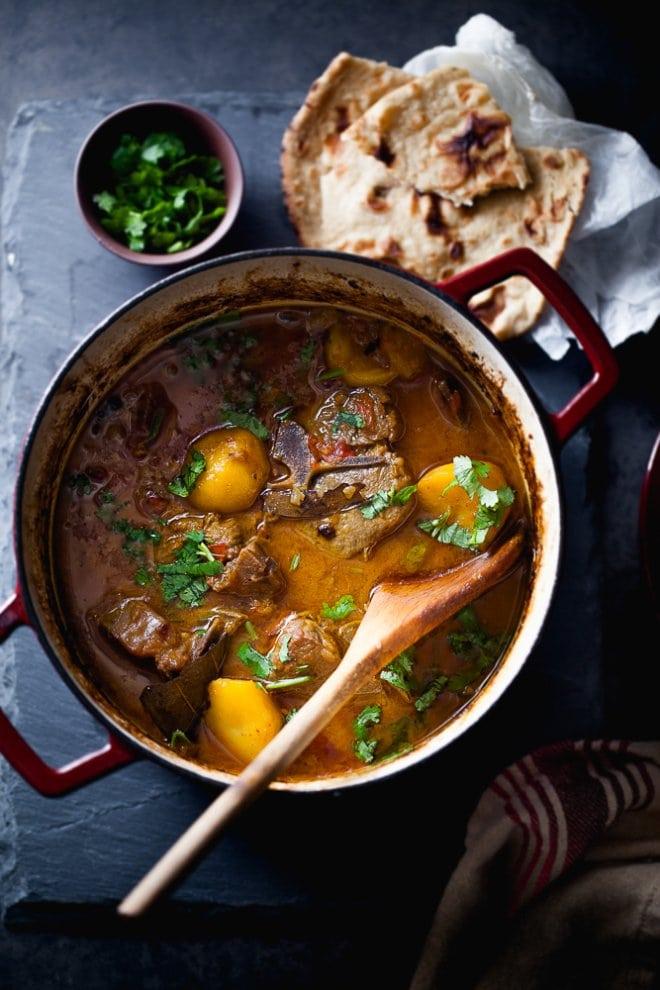 Lamb potato stew on @thouswellblog via Sinfully Spicy