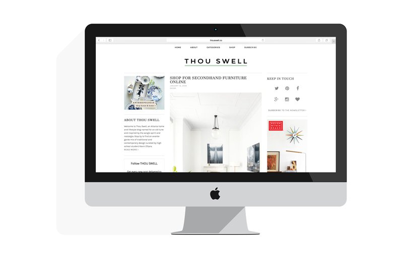 Thou Swell new layout by Blogzilla
