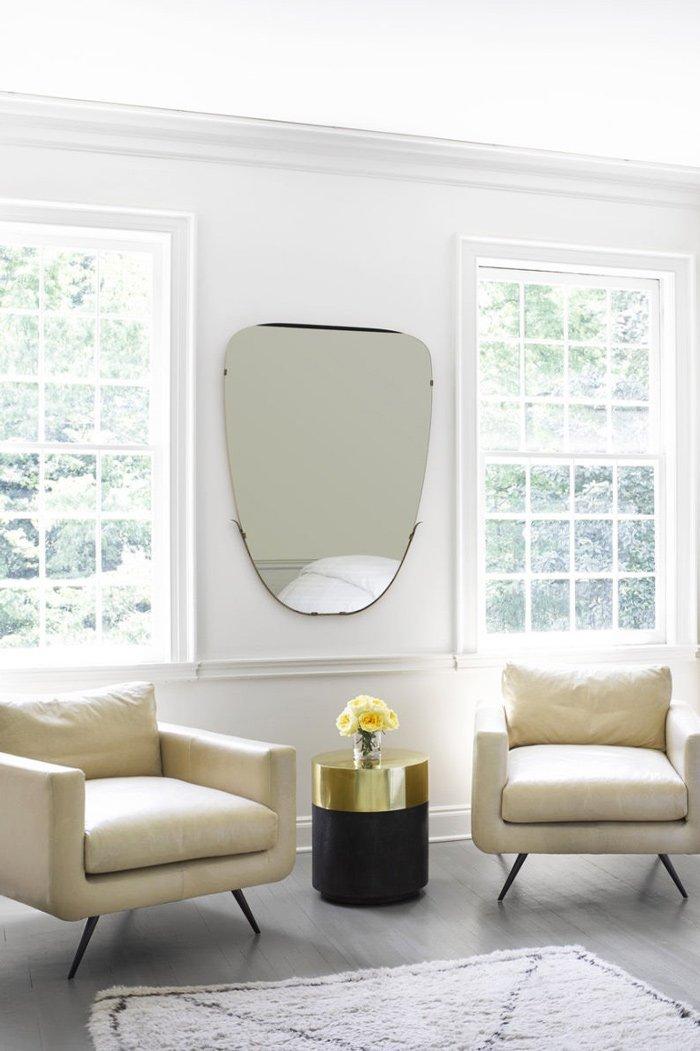 Kay Douglass' simple white bedroom via @thouswellblog