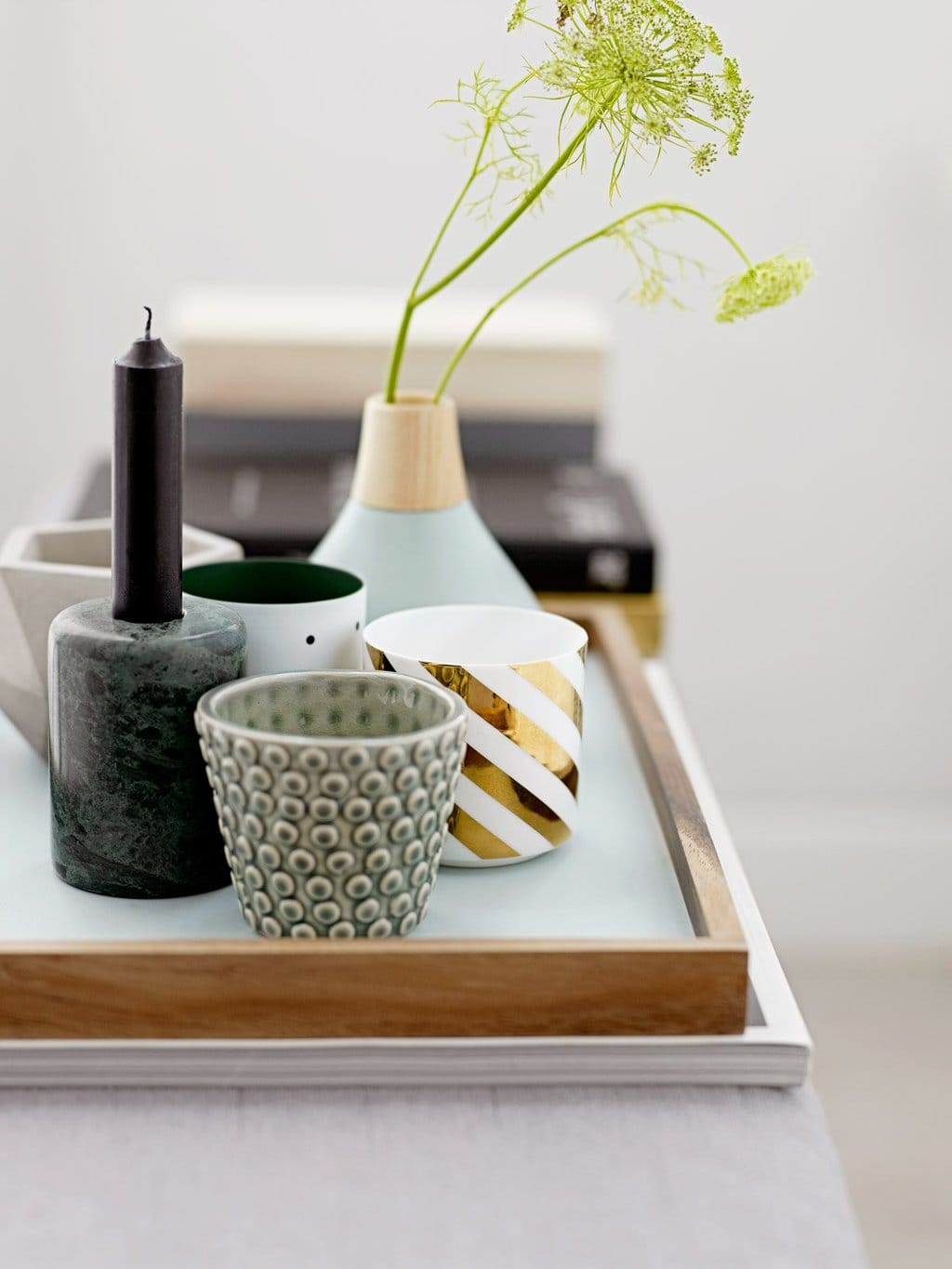 Bloomingville Nordic decor and vases on @thouswellblog