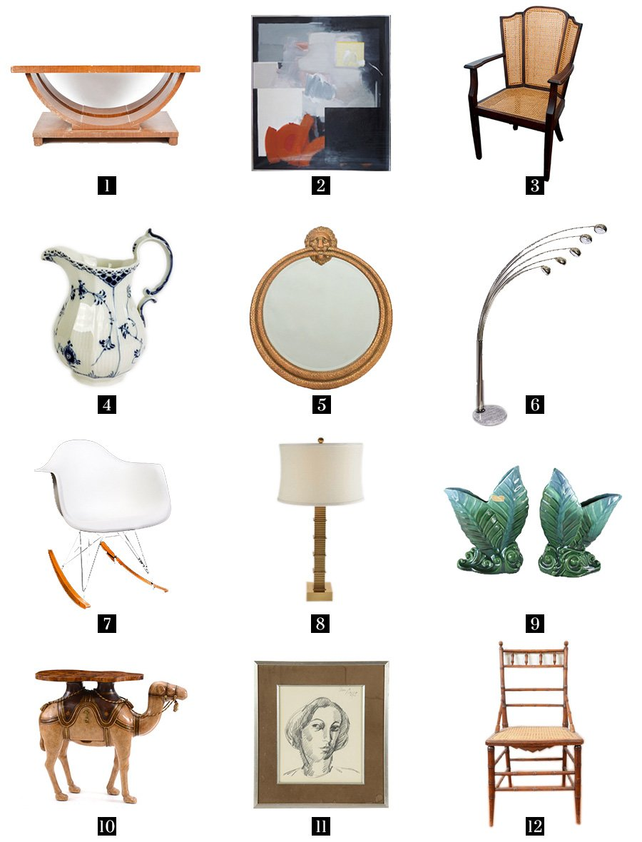 Vintage home decor from EBTH on Thou Swell
