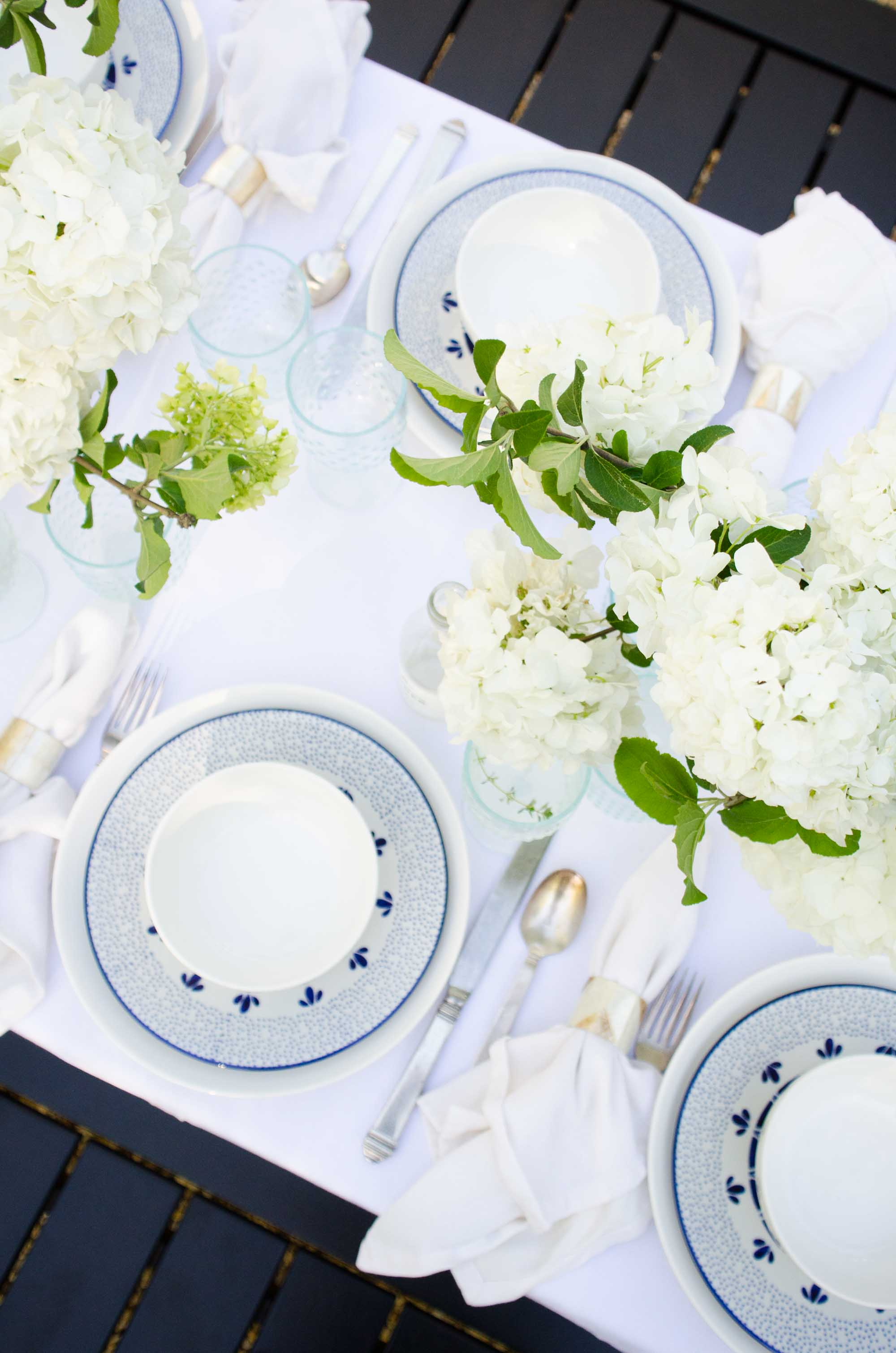 west elm - Alfresco dinner party with @thouswellblog