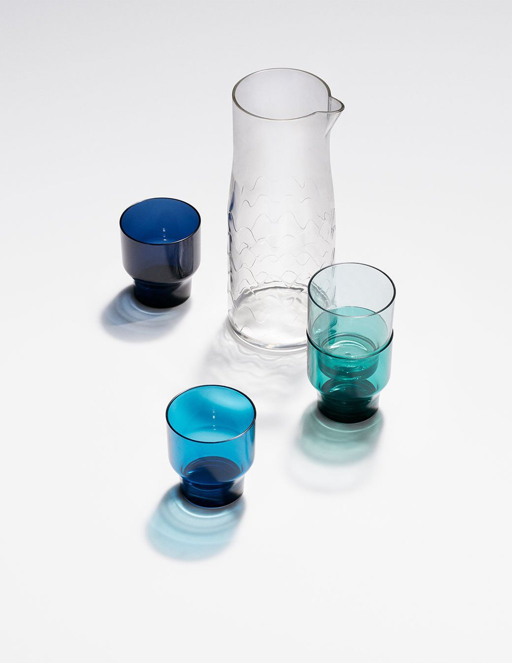 Marimekko for Target stackable glassware via @thouswellblog