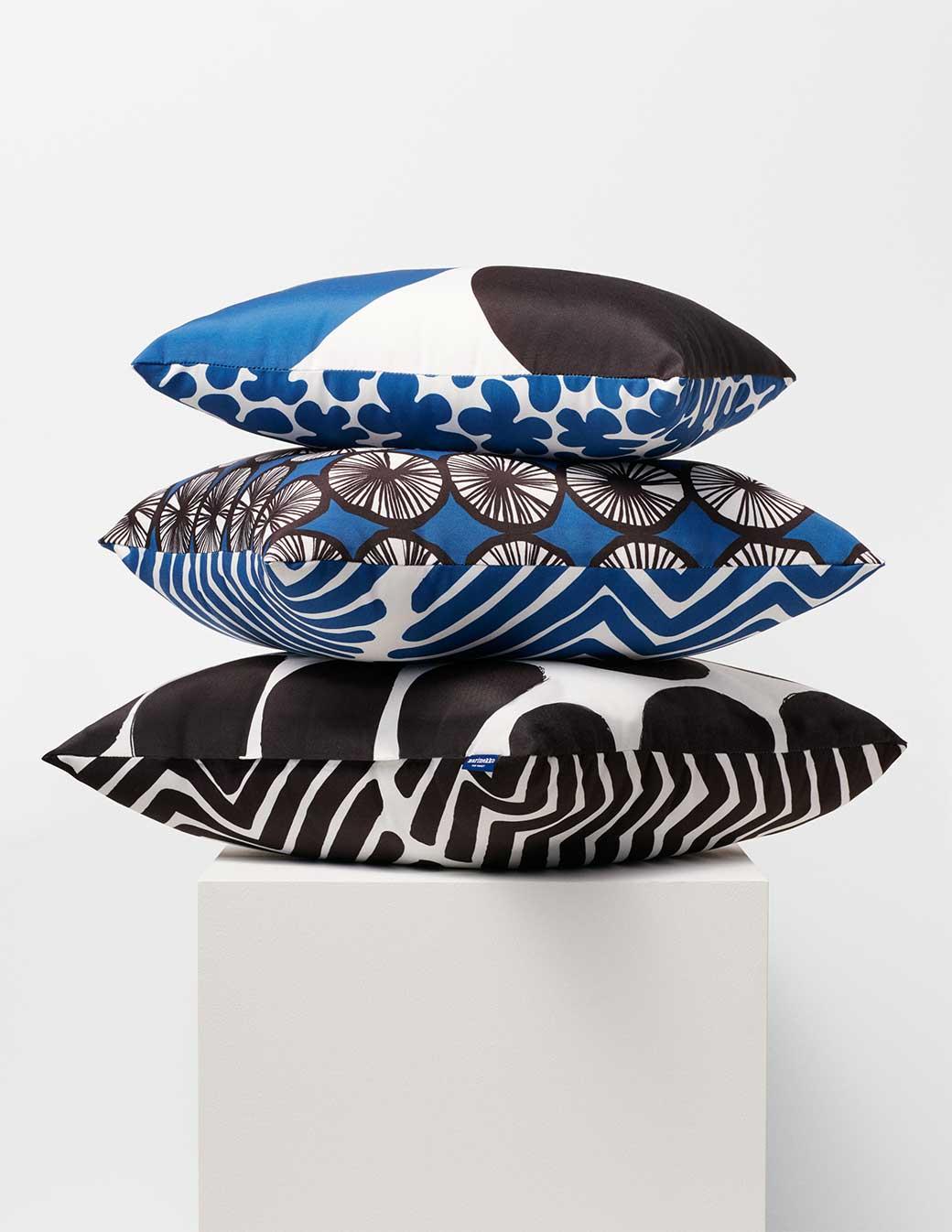 Marimekko for Target bold patterned pillows via @thouswellblog