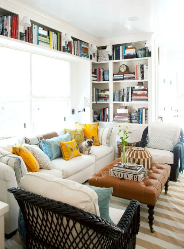 Mark D. Sikes living room via @thouswellblog