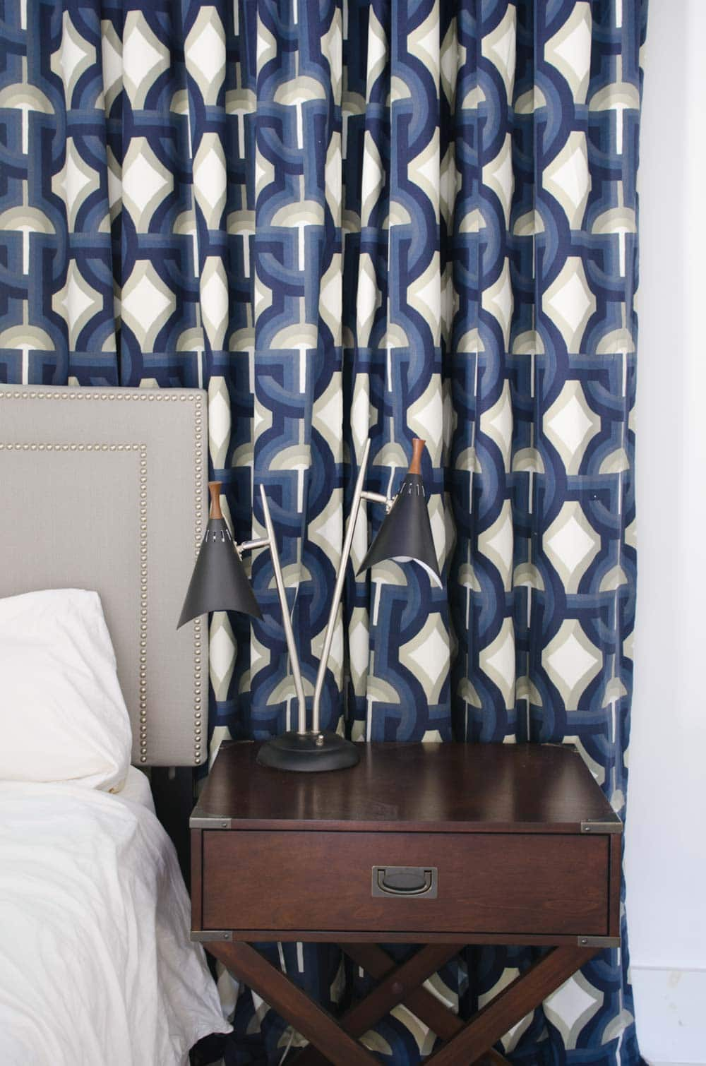 One Room Challenge Robert Allen Futura curtains via DecoratorsBest on @thouswellblog
