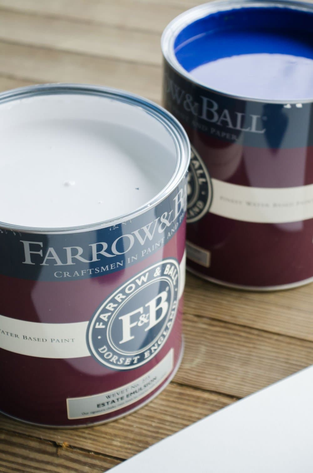 Farrow & Ball Paint for the One Room Challenge on @thouswellblog