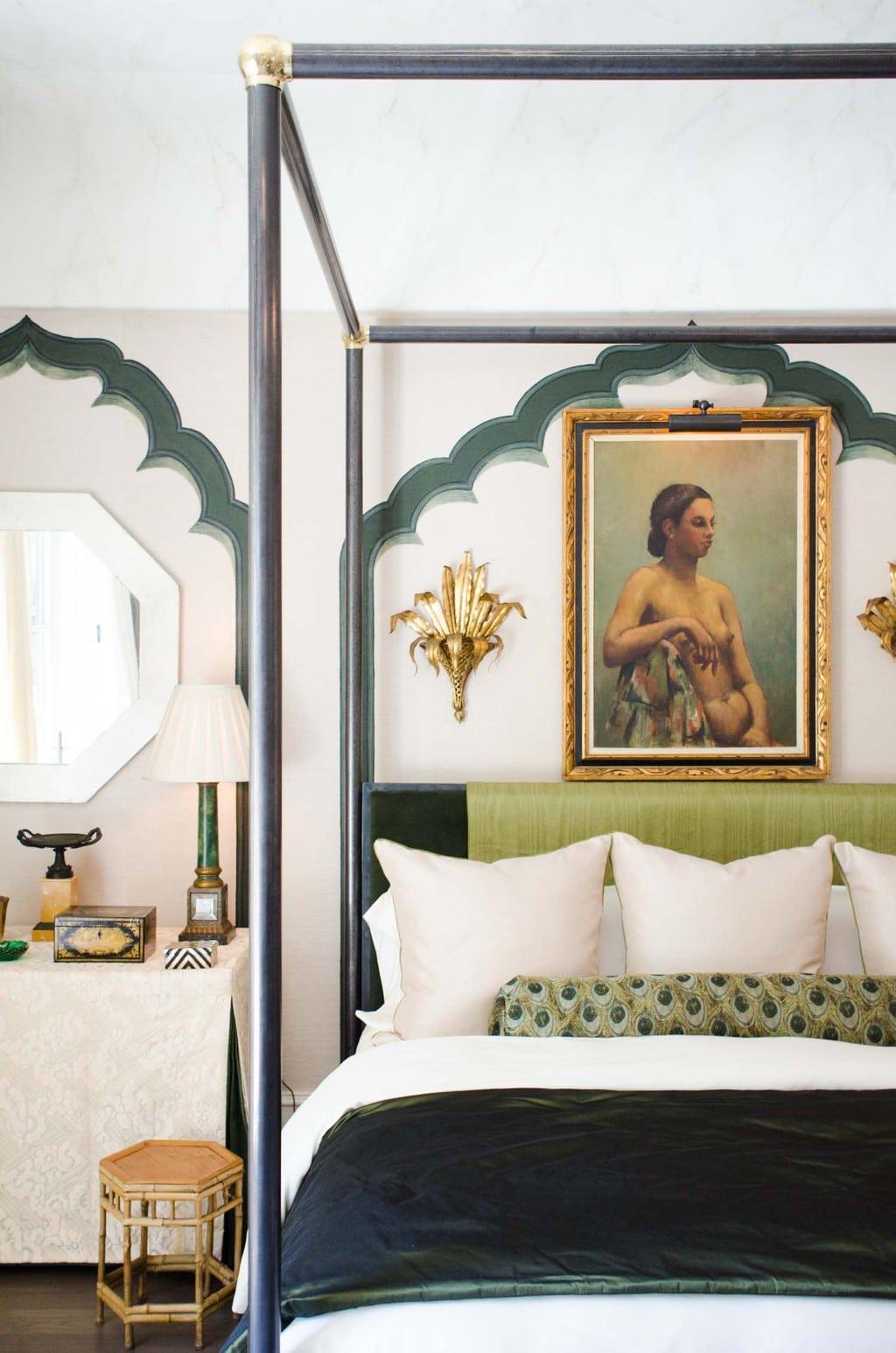 Robert Brown exotic bedroom design via @thouswellblog