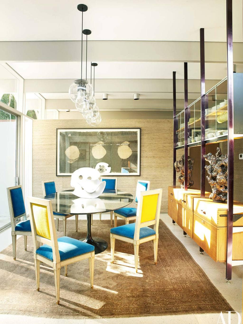 Dining Room In Modernist New Orleans Home Via @thouswellblog