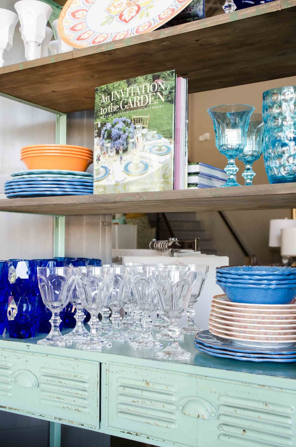 Inside Steve McKenzie's home decor shop in Atlanta on @thouswellblog
