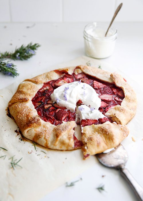 Strawberry galette by @sfgirlbybay on @thouswellblog