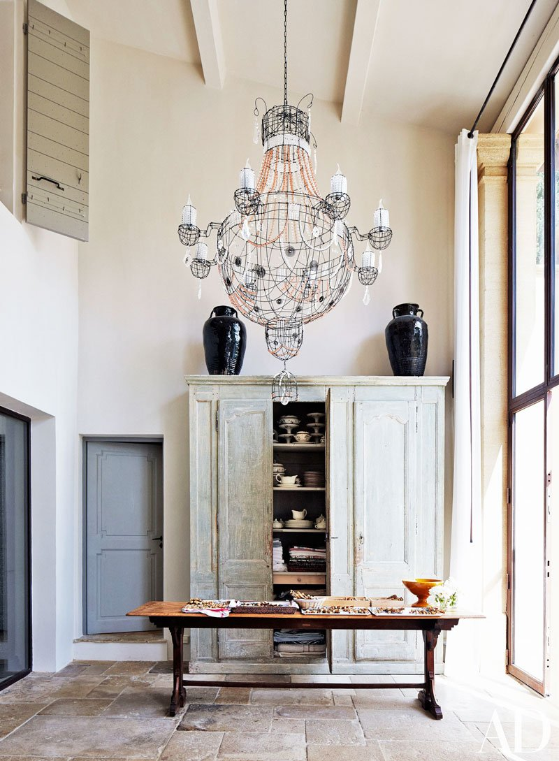 Eclectic rustic home tour in Provence via Thou Swell