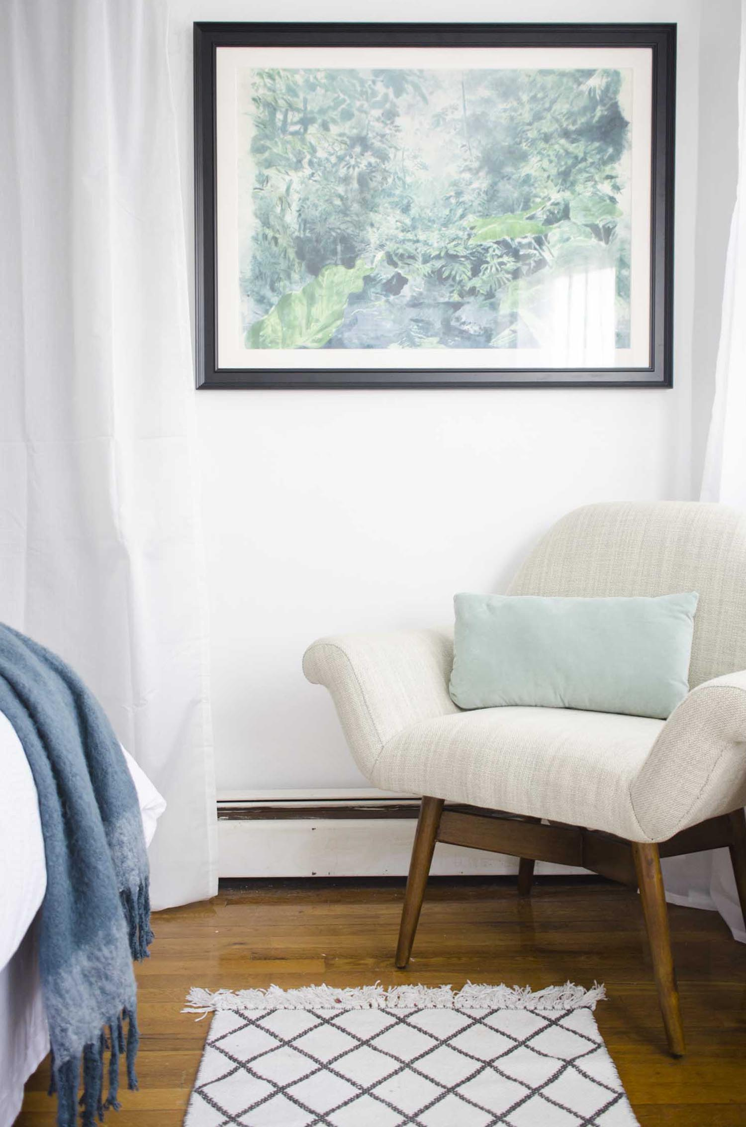 Bedroom makeover with west elm on @thouswellblog