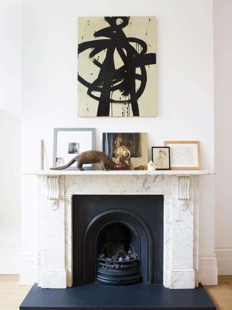 Elegant decorating in a London townhouse via @thouswellblog