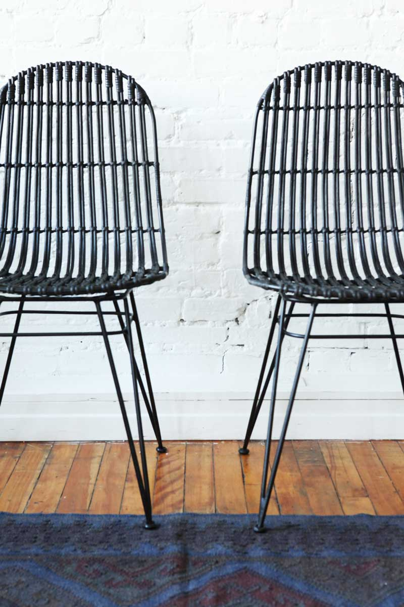 Lilo rattan dining chair from Furniture Maison on @thouswellblog