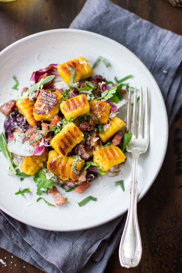 Pumpkin ricotta gnocchi via Bojon Gourmet on Thou Swell