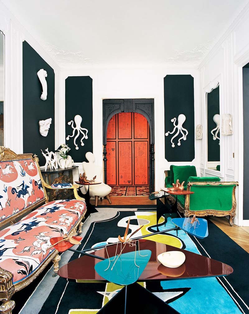 A parisian lesson in eclecticism thou swell for French eclectic