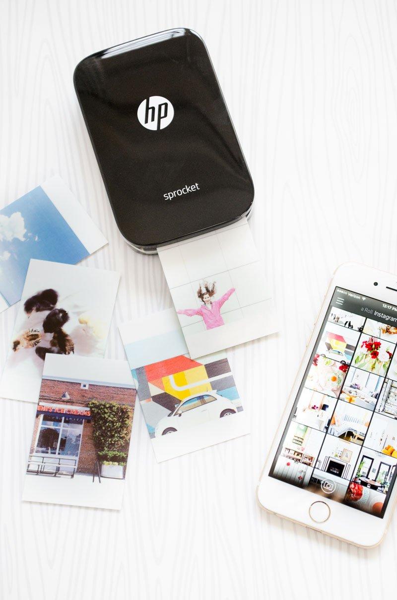 HP Sprocket photo printer on teen girl's gift guide via Thou Swell