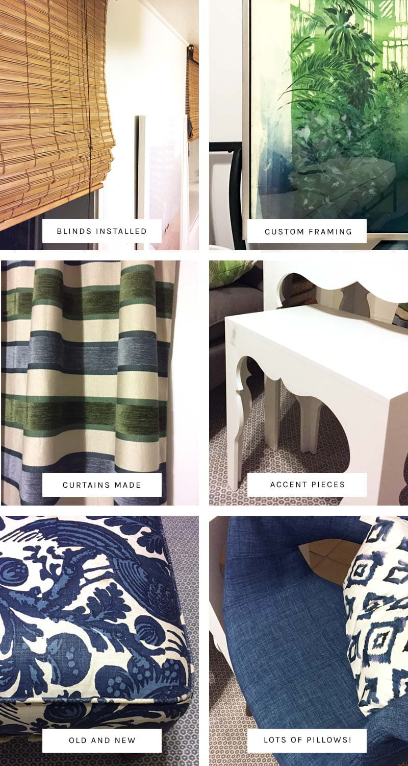 Convertible guest room design sneak peeks via Thou Swell