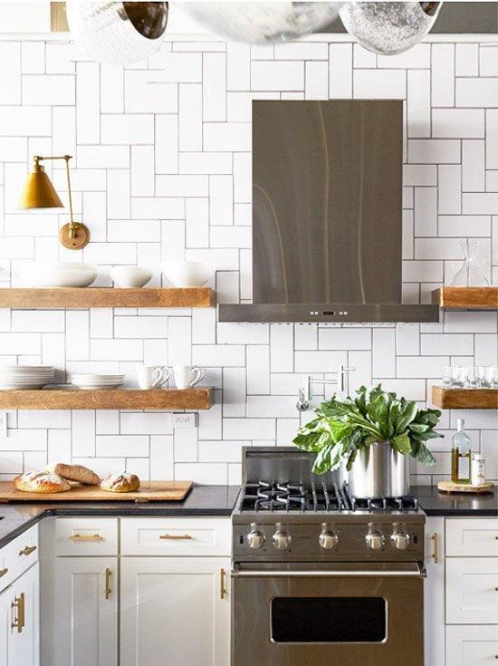 Edgy modern loft kitchen from Atlanta Homes & Lifestyles on Thou Swell @thouswellblog