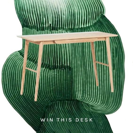 Furniture Maison Noli mid-century modern desk on Thou Swell @thouswellblog