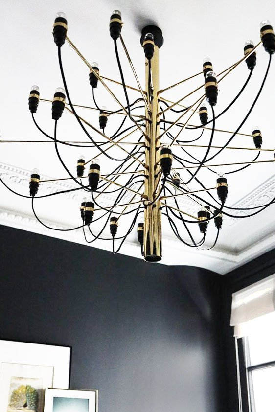 Flos 2097 suspension light on Thou Swell @thouswellblog