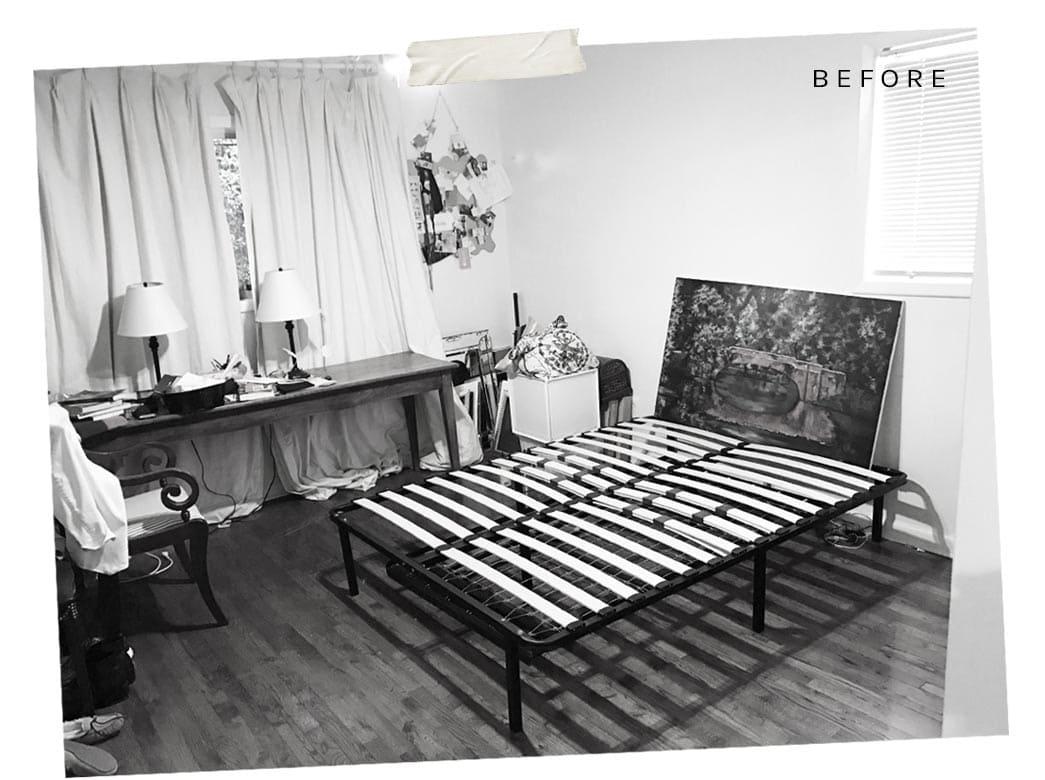 Julia's bedroom before