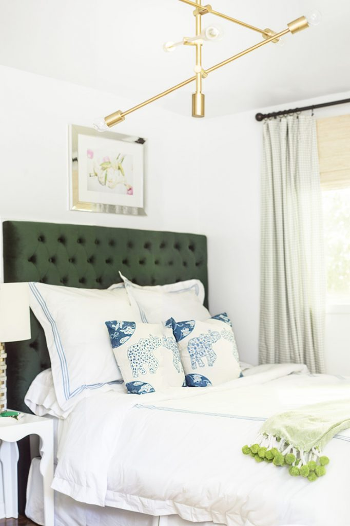 Julia's Bedroom for the One Room Challenge on Thou Swell @thouswellblog
