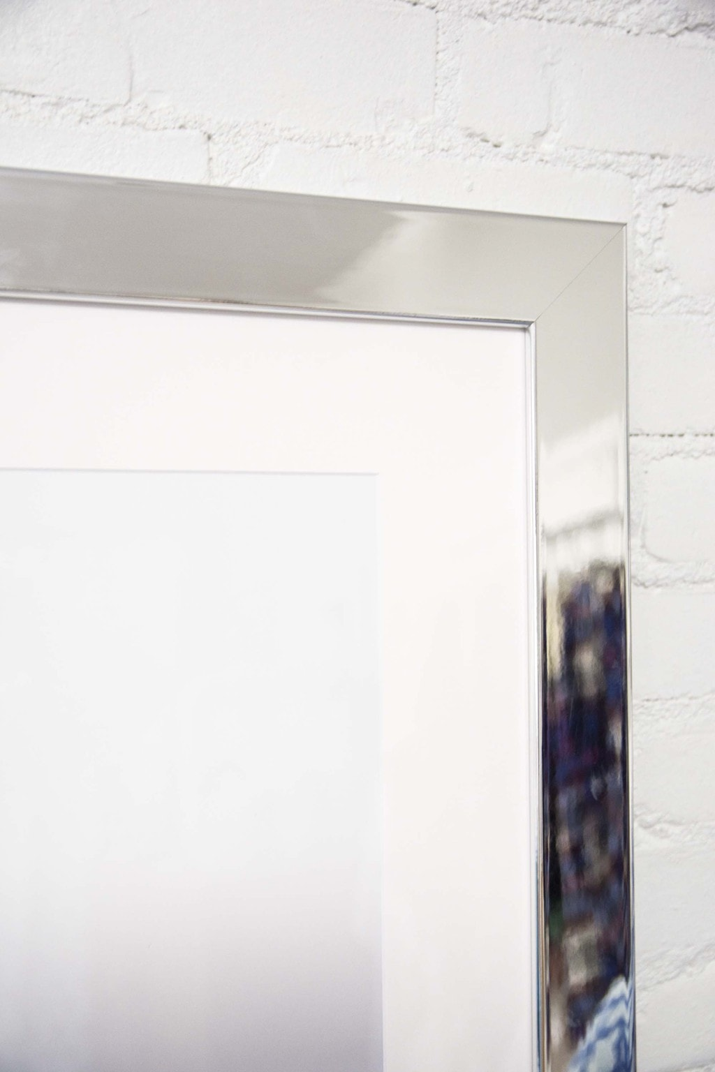 Brentwood mirrored frame from Framebridge on Thou Swell @thouswellblog