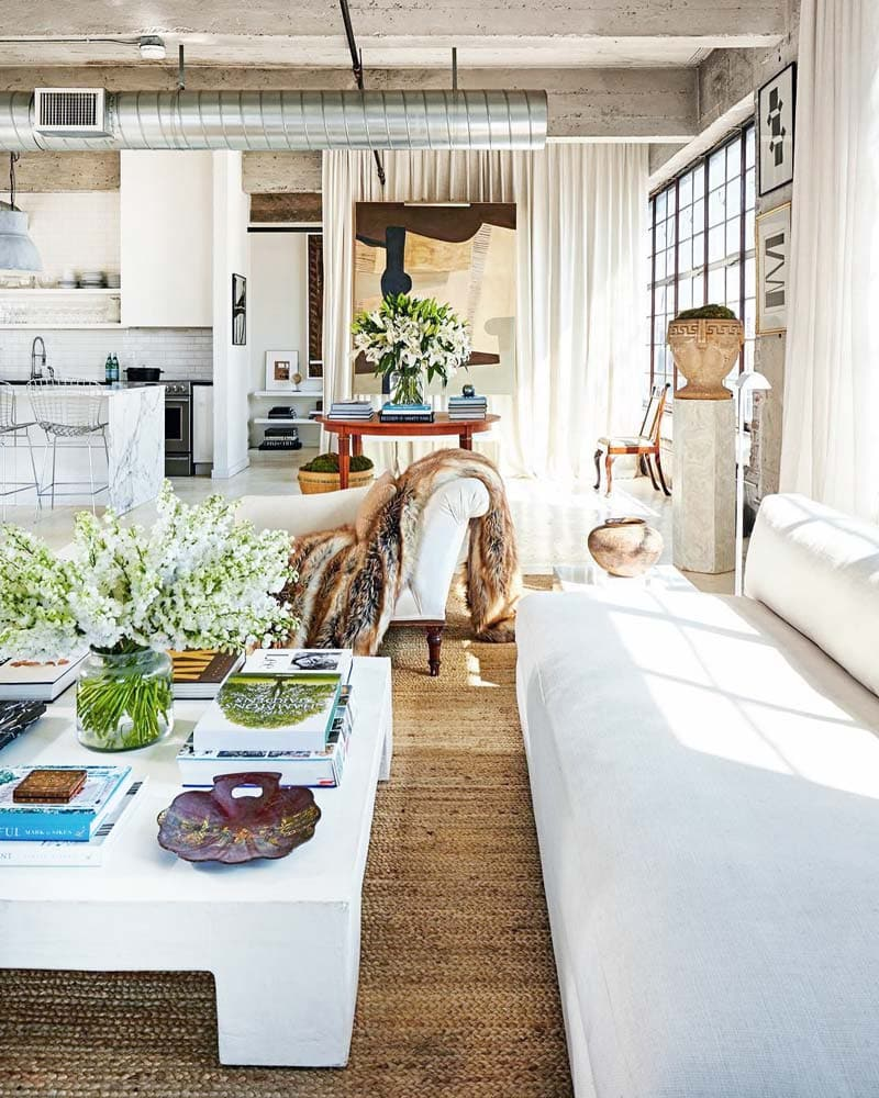 Birmingham loft with traditional and modern mix by William McClure on Thou Swell @thouswellblog