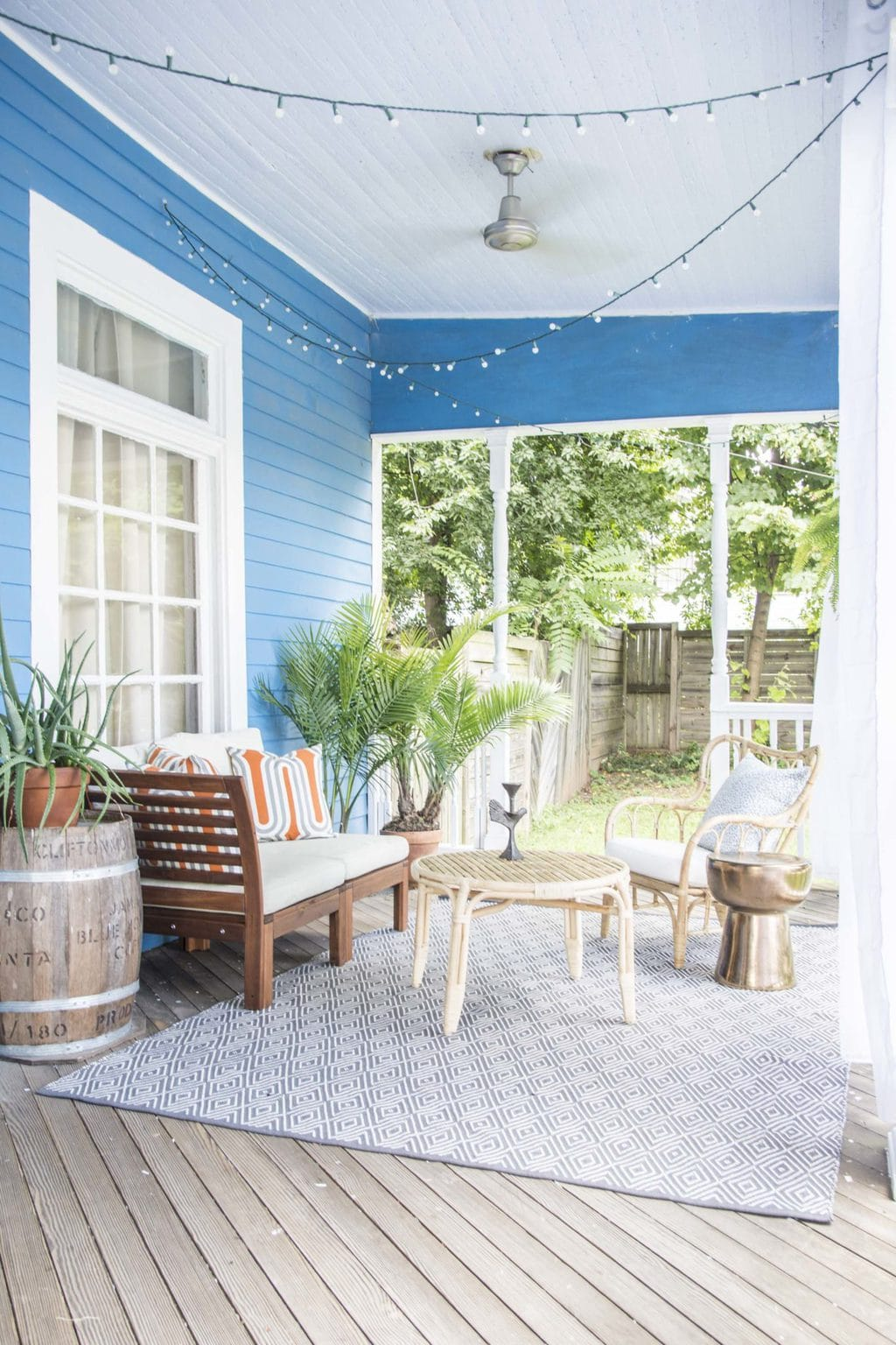 Tye Street Project porch makeover reveal on Thou Swell @thouswellblog